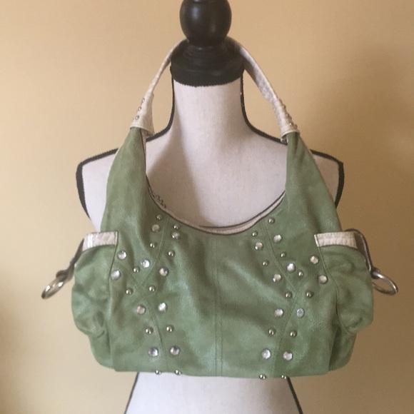 bc0ec1e91620 kathy ireland Bags | Suede Bag | Poshmark